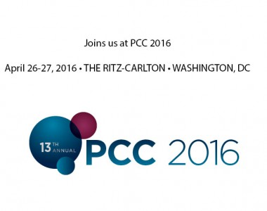 Join us at the PCC Conference April 26-27, 2016